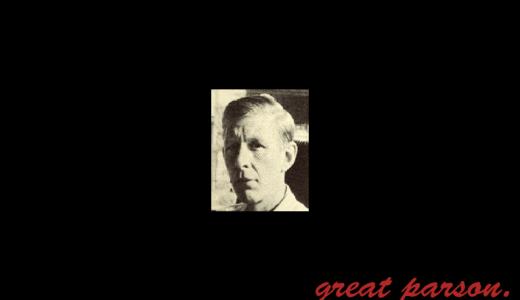 W・H・オーデン『死とは、ピクニックのとき遠くに聞こえる稲妻の音。』