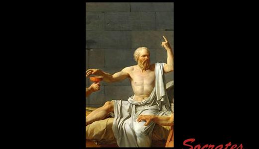 ソクラテス『この痛い足かせとも、いよいよお別れだ。』