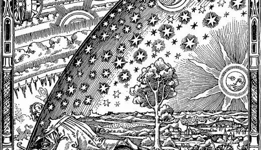 もし地球が平面なら人は『上と下と横』に何があると考えたかわかるだろうか?