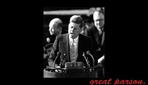 ジョン・F・ケネディ『我々の問題は、人間が生んだものである。それゆえ、人間はそれを解決することができる。』