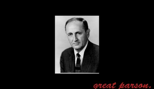 ジョン・ウィリアム・ガードナー『私が誰であろうと、どんなことをしていようと、何らかの点で卓越することは可能である。』
