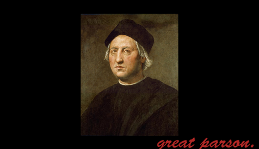 コロンブス『想像はむずかしく、模倣は容易い。』