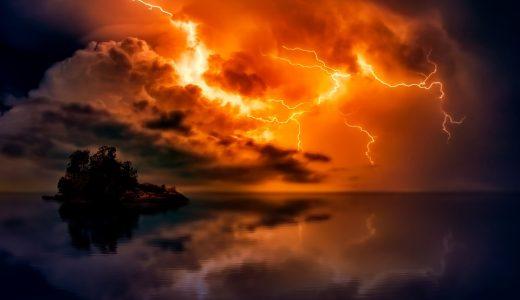 稲妻、洪水、地震。あまりにも力強いあの正体を知らないとき、人はそこに『何を見た』かわかるだろうか?