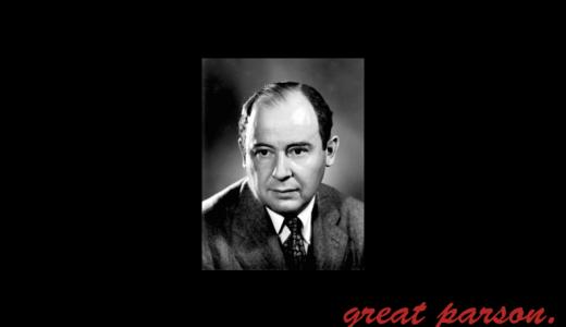 ノイマン『生み出した物の使い道を決めるのに、科学者は適さない。』