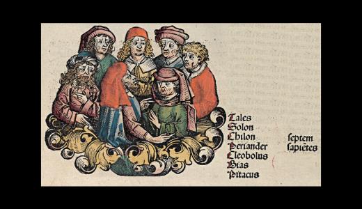 ギリシャ7賢人の一人『タレス』と、サモスの賢人『ピタゴラス』の哲学とは