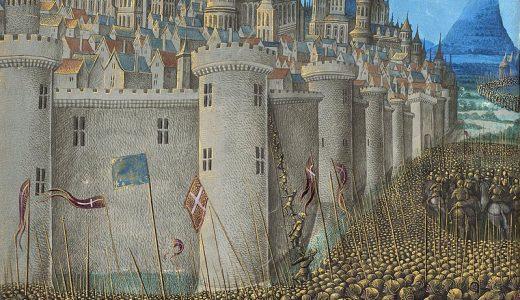十字軍とイスラム勢力との戦いで異彩を放った『サラディン』と、真の英雄『ボードゥアン4世』
