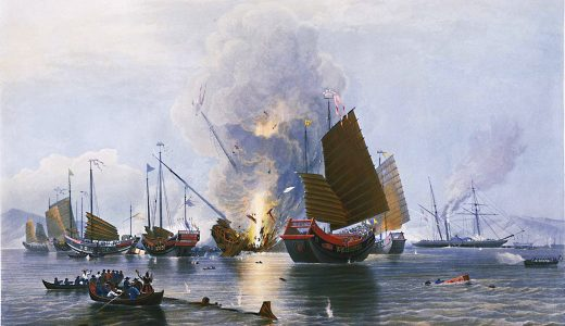 アヘン戦争の原因はお茶の値段を吊り上げた『清』、野心の塊だった『イギリス』のどっちにあるか