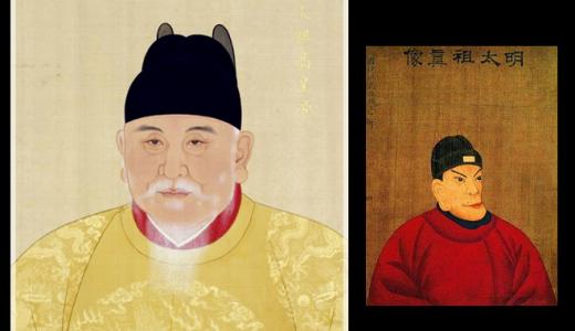 チンギス一家を滅亡に追い込んだ『明』の初代皇帝『朱元璋』にはなぜ2つの肖像画があるのか?