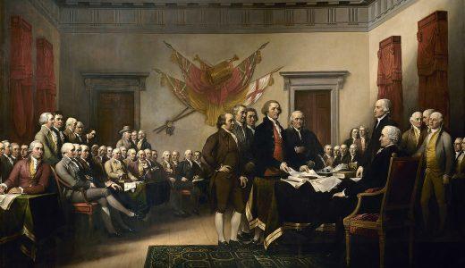 イギリスよ!やりすぎだ!我々は『自由・平等』を尊重し『アメリカ合衆国』として独立することを宣言する!