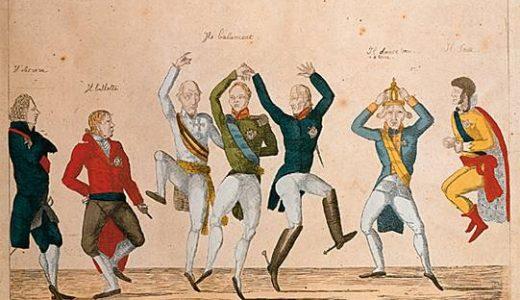 踊る要人と、憤る民衆。ナポレオンが引っ掻き回した世界の後始末『ウィーン会議』とその体制の崩壊