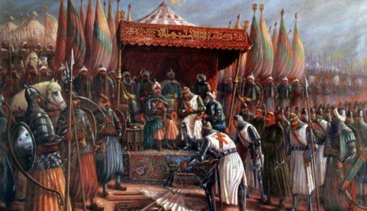 [800年~1500年編]年表で見る人類の歴史(世界史・日本史)と映画・漫画・小説一覧